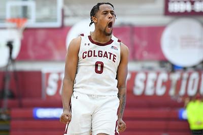 NCAA MBball: Loyola at Colgate; 3/14/21 (Patriot League Final)