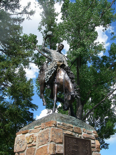 Zijo and I met at the town square park. Jackson, WY is a premiere destination valley resort town south of Grand Teton National Park attracting millions of visitors each year.