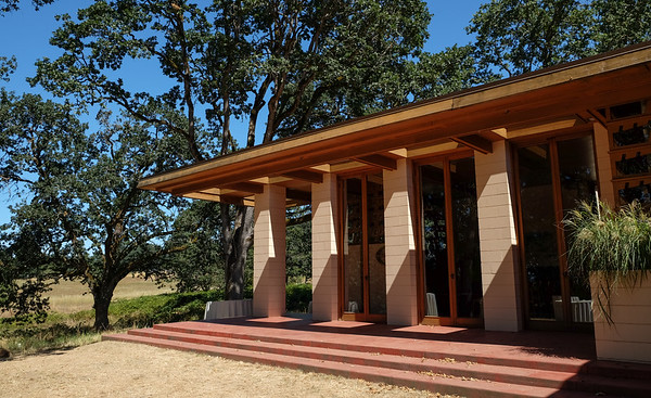 Frank Lloyd Wright Gordon House, Silverton, Oregon