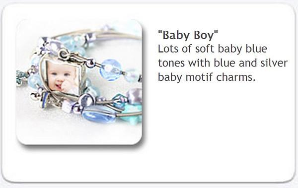Charm Bracelet - Baby Boy $35