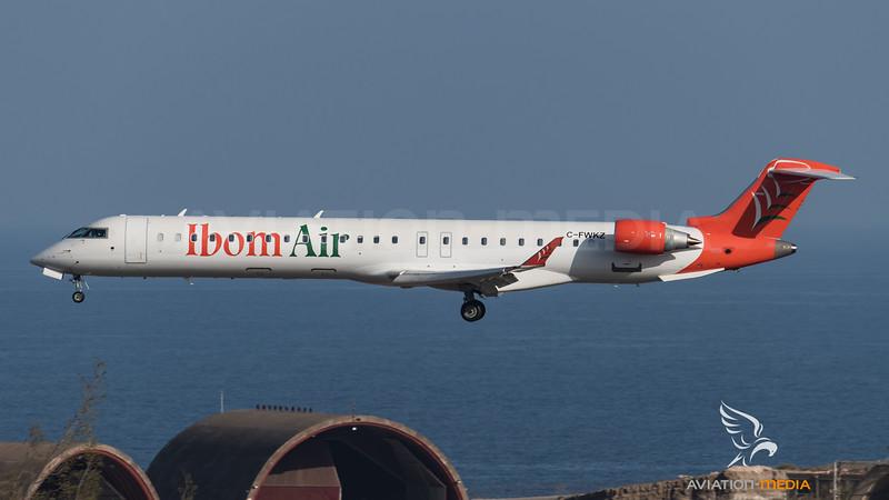 Ibom Air / Bombardier CRJ-900LR / C-FWKZ