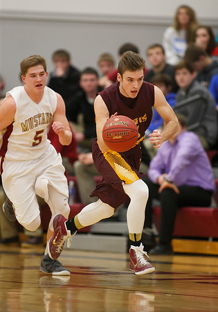 Davis County vs PCM Boys Basketball 02192015