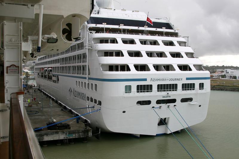 Azamara Journey is the sister ship to Tahitian Princess.  Hmmmm.  Makes me want to take an Azamara cruise.