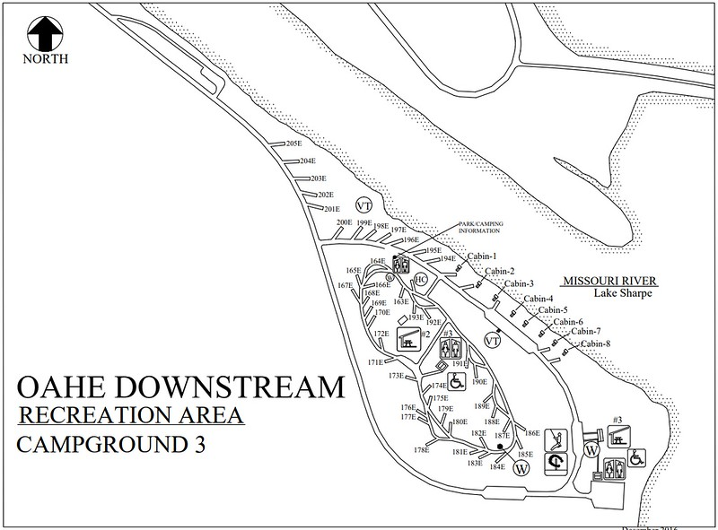 Oahe Downstream Recreation Area (Campground #3)