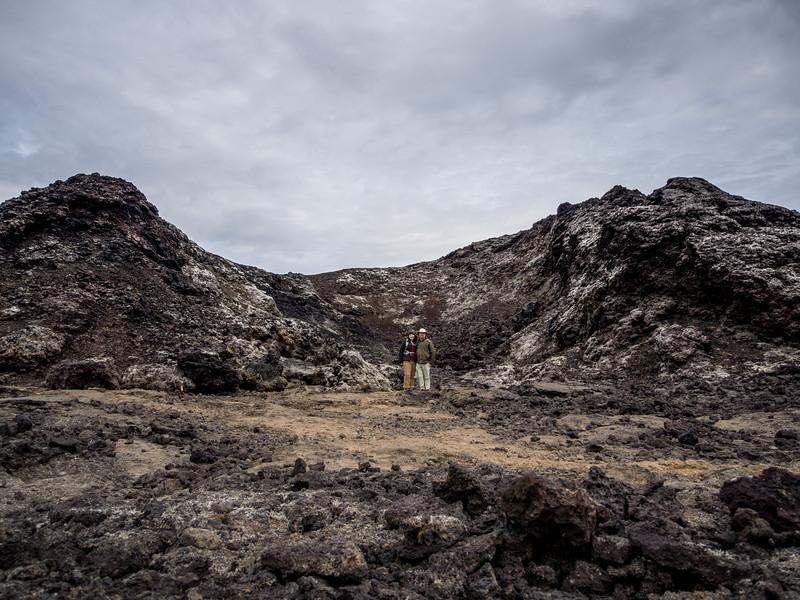 Lava fields at Krafla
