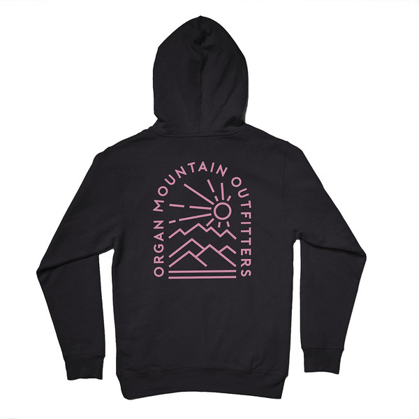 Organ Mountain Outfitters - Outdoor Apparel - Hooded Pullover - Elevation Hoodie - Black Back.jpg