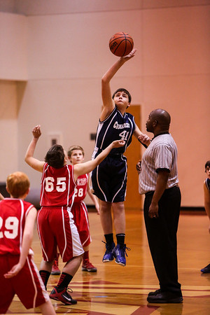 Jan 17 - BBall - 6th Gr Boys vs St Andrew Red