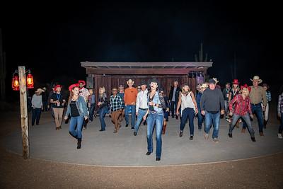 Western Night at Desert Foothills