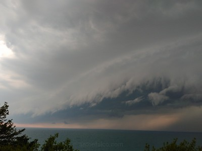 Chase Recap: June 17th, 2017. Father's Day Shelf Cloud
