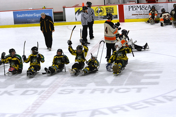 Hornets Sled Hockey