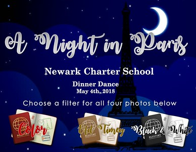 Newark Charter School Night in Paris