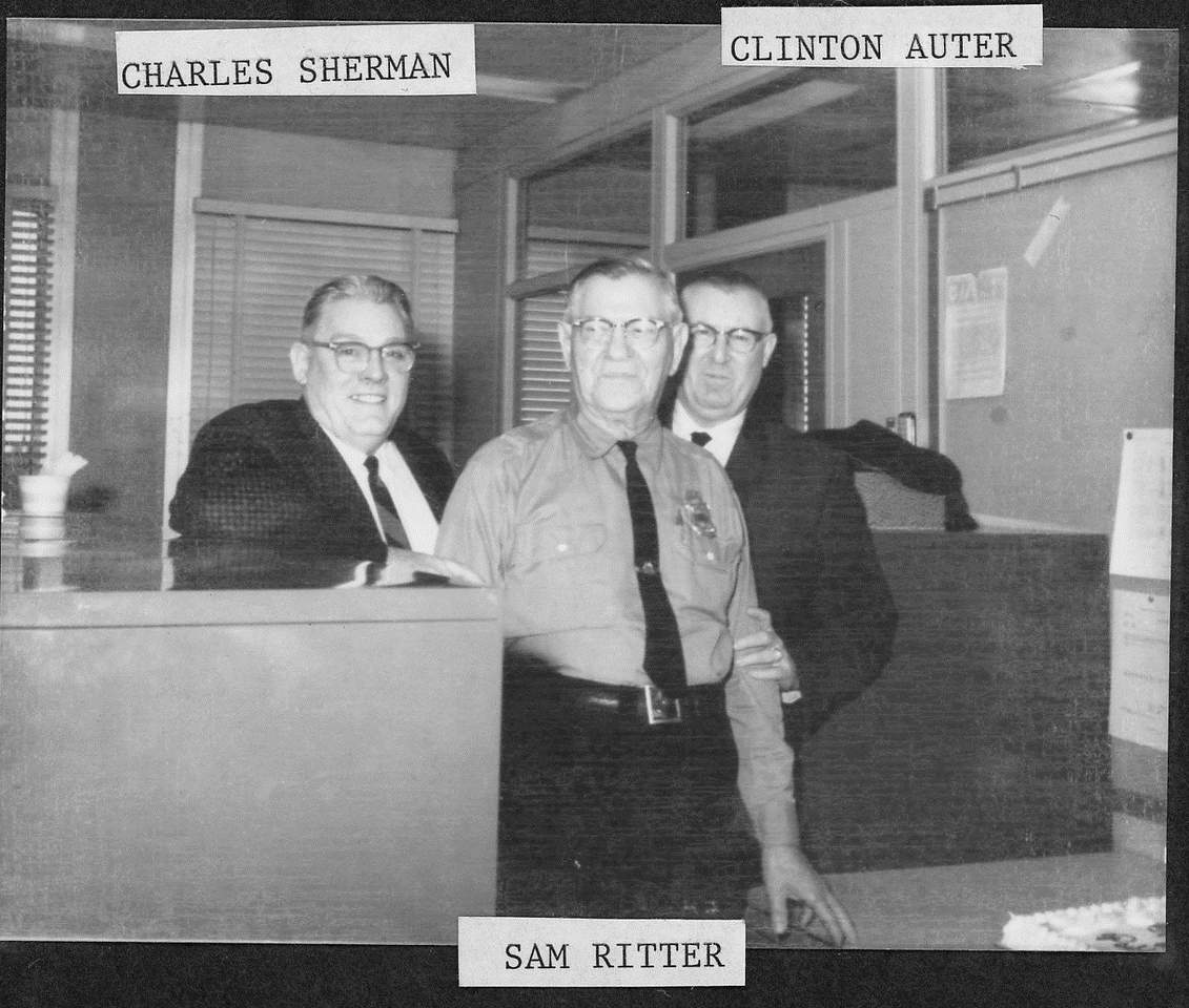 Charles Sherman, Sam Ritter and Clinton Auter