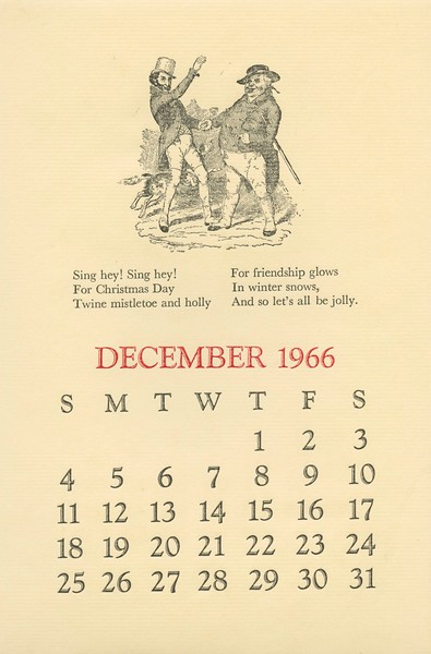 December, 1966, Heave-Ho Press