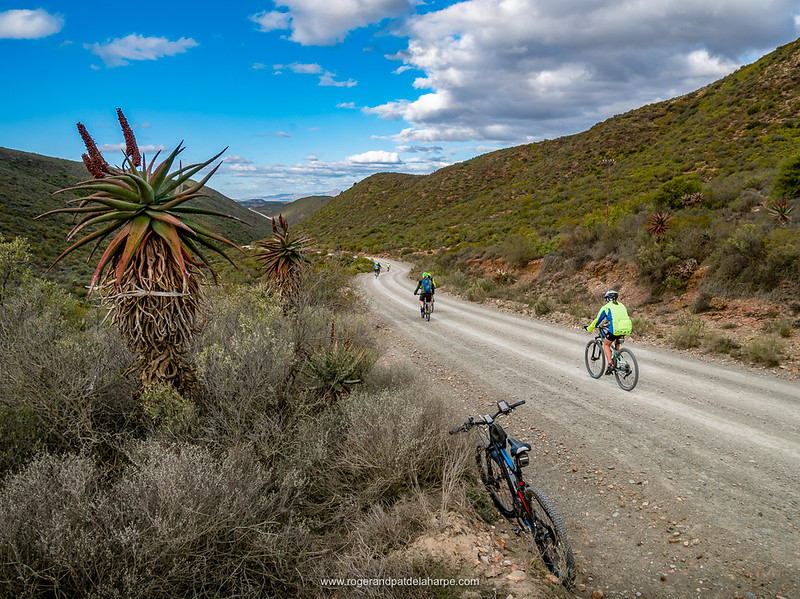 The roads around Vanwyksdorp are all really good gravel and are just waiting to be explored.