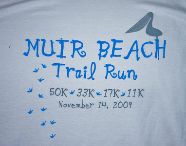 Muir Beach Trail Run Nov. 2009
