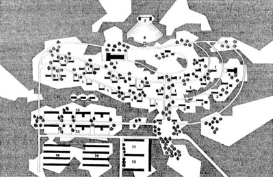Kibbutz Layouts in the Forties