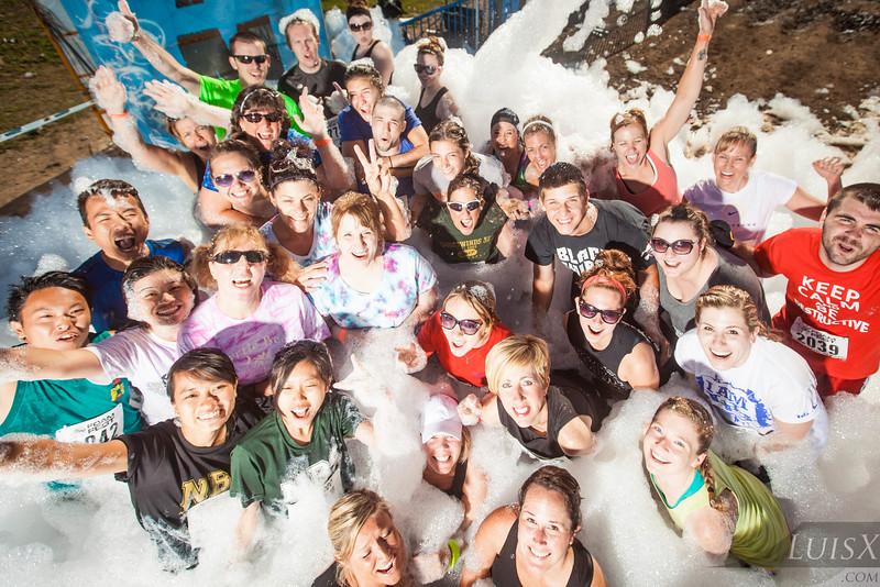 5k Foam Fest NC 2014