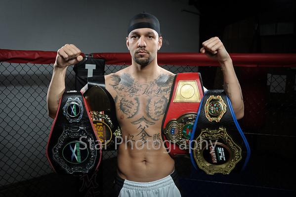 MMA Fighter Dustin Long 1-1-2013