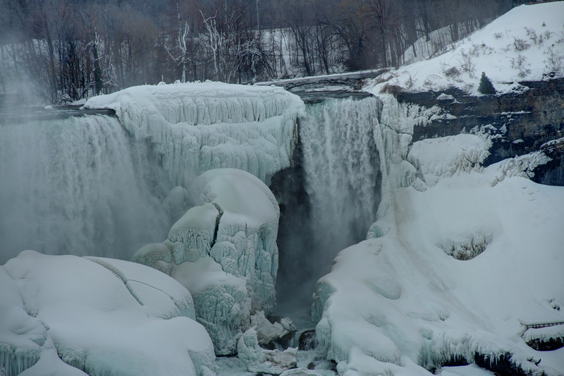 Falls and Bridge