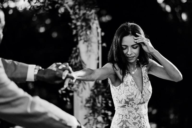 Elizabeth & Pitra's Backyard Wedding