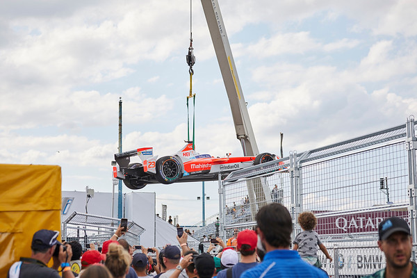 Big Dawg Party Rentals: Formula E Racing - Print