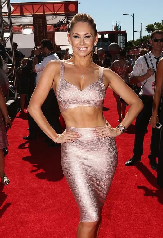 . LOS ANGELES, CA - JULY 16:  Dancer Kym Johnson attends The 2014 ESPYS at Nokia Theatre L.A. Live on July 16, 2014 in Los Angeles, California.  (Photo by Christopher Polk/Getty Images For ESPYS)