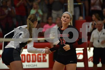 Des Moines Roosevelt @ Fort Dodge Volleyball