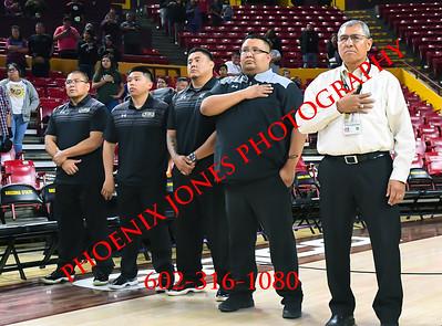 3-10-18- Chinle vs. San Carlos - Native American Basketball Classic - Boys Basketball