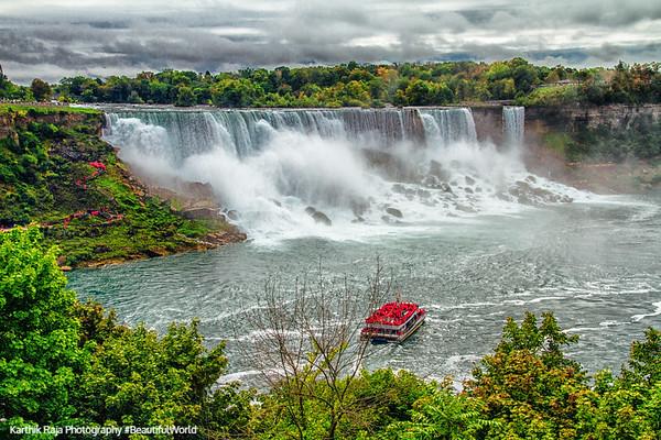 Niagara Falls and Niagara-on-the-lake, Ontario