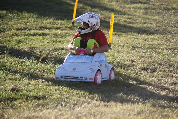 Barbie Car Race