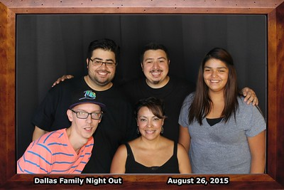Dallas Family Night Out 8.25.2015