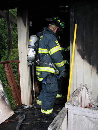 6-24-10 Structure Fire, Windy Ridge Road, Cold Spring