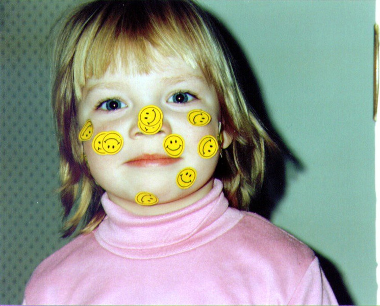 Alina, Smiley Face 1995 .jpg