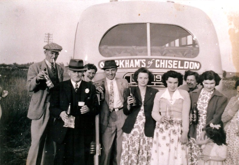 British Legion outing 1950`s