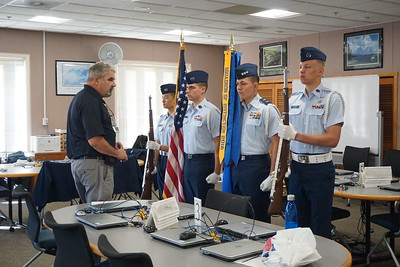 Cadet Color Guard Competition