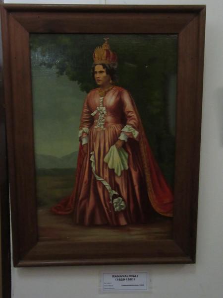 018_Antananarivo. The Rova. Queen Ranavalona I. 1828-1861.JPG