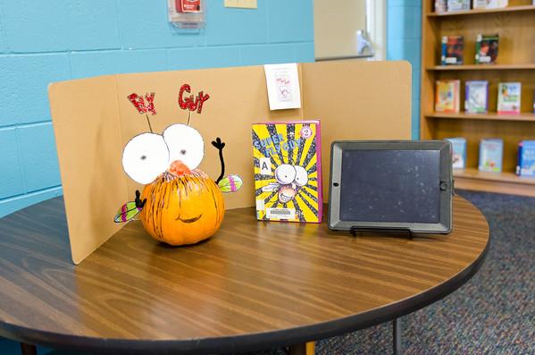 Pumpkin Storybook Character