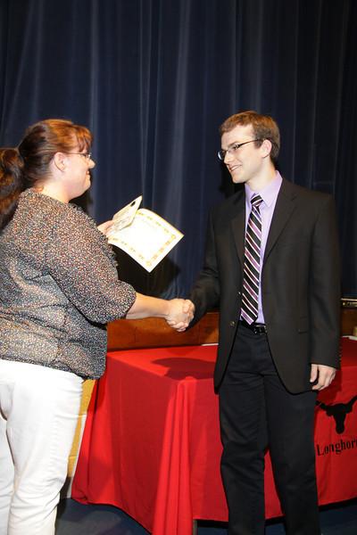 Awards Night 2012 - Student of the Year: AP Spanish