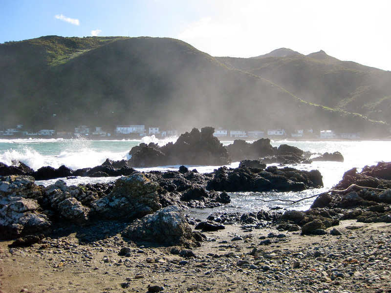 Owhiro Bay in Wellington