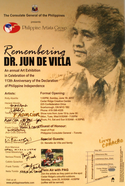 Philippine Artist Group - Remembering Dr. Jun de Villa