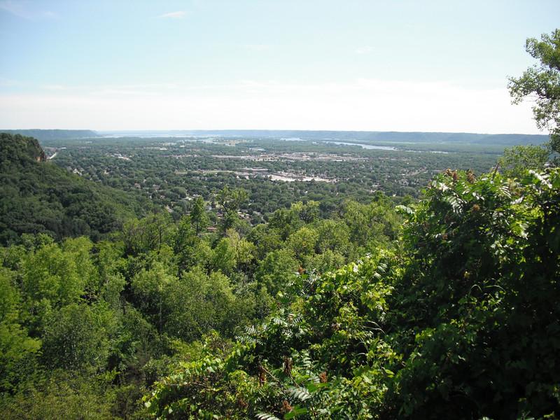 2009-07-11 View from Grandad Bluff in La Crosse WI (2).JPG