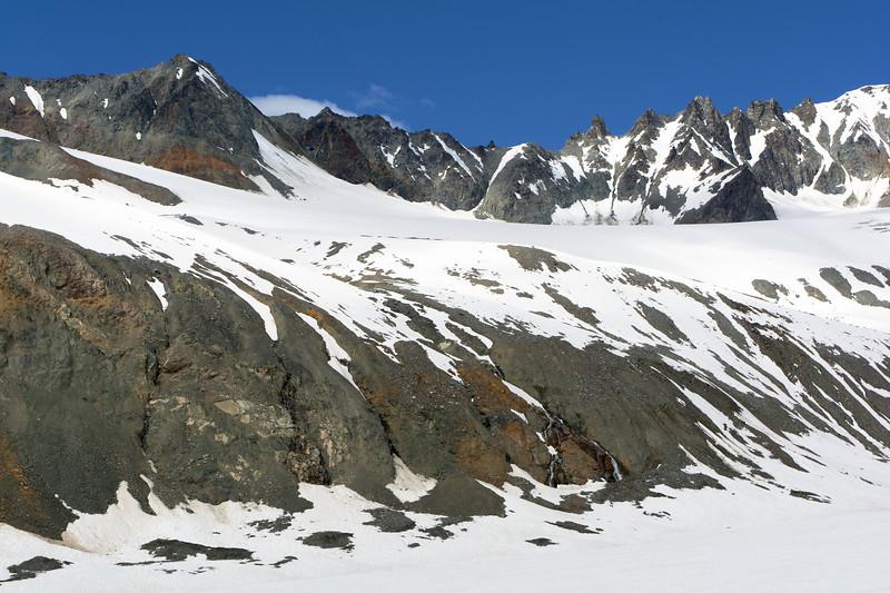 College Glacier Landscape