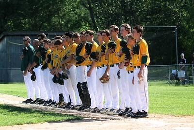 2016 BBA Varsity Baseball Playdown vs NC photos by Gary Baker