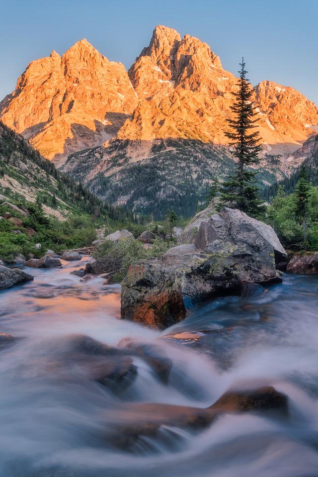 Cascade Creek Grand Teton National Park Wyoming