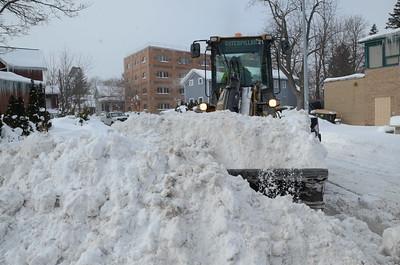 Snow Removal on Sanford Street 2/19/2015