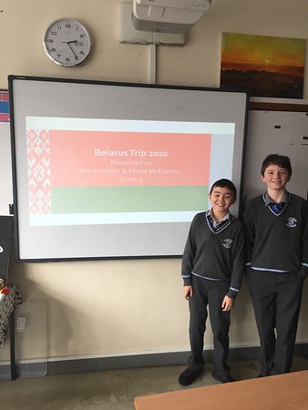 Misha and Mack's presentation on Belarus
