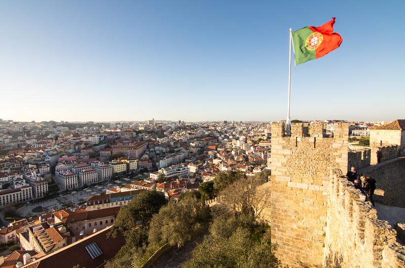 Lisbon from Castelo de Sao Jorge