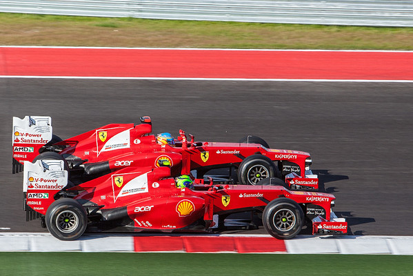 Formula 1: US GP, Austin - November 18, 2012 -Race Day!-