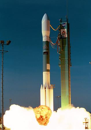 Boeing Delta II Iridium 90-95 Launches from Vandenberg AFB 02-11-2002