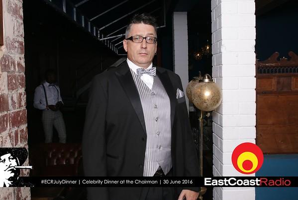 ECR Celebrity Dinner at the Chairman